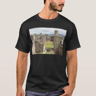 Castillo de Caernarfon, País de Gales, Reino Unido Playera