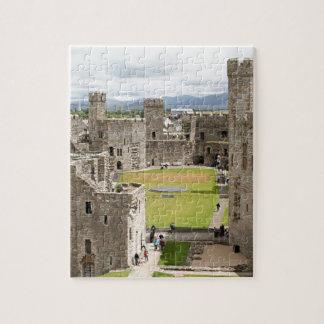 Castillo de Caernarfon, País de Gales, Reino Unido Puzzle