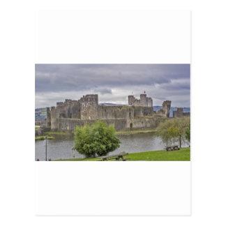 Castillo de Caerphilly Postal