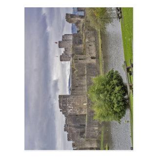 Castillo de Caerphilly Tarjetas Postales