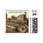Castillo de Cardiff, País de Gales 1905 Franqueo