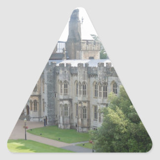 Castillo de Cardiff Calcomania Trianguladas Personalizadas