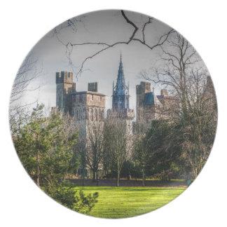 Castillo de Cardiff Plato De Cena