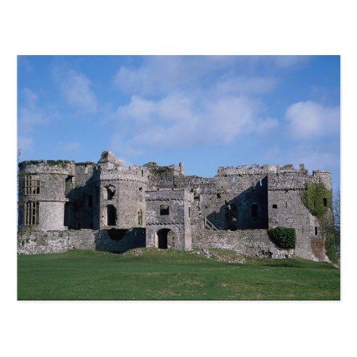 Castillo de Carew, País de Gales, Reino Unido Tarjetas Postales