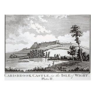 Castillo de Carisbrook, en la isla del Wight Postales