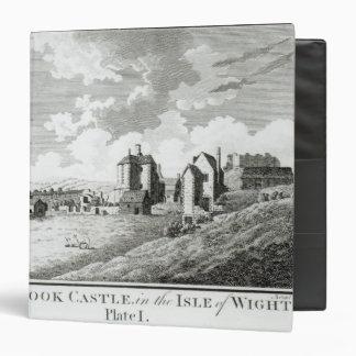 Castillo de Carisbrook, isla del Wight, placa I