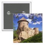 Castillo de Cesis en Letonia central Pin Cuadrada 5 Cm