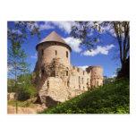 Castillo de Cesis en Letonia central Postal