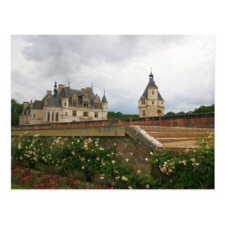 Castillo de Chenonceau Postal