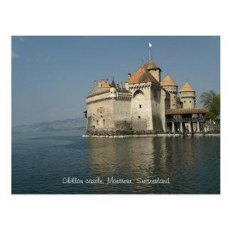 Castillo de Chillon Montreux Suiza Postales