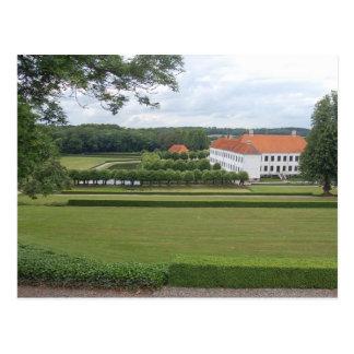 Castillo de Clausholm, Hadsten, Dinamarca Postales