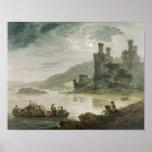 Castillo de Conway, 1794 Póster