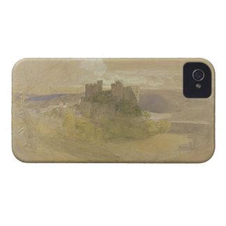 Castillo de Conway (grafito, w/c y aguazo en el pa iPhone 4 Protector