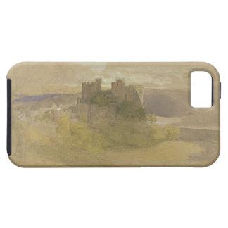 Castillo de Conway (grafito, w/c y aguazo en el pa iPhone 5 Case-Mate Carcasas