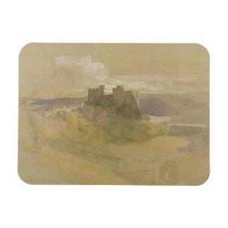 Castillo de Conway (grafito, w/c y aguazo en el pa Imán De Vinilo