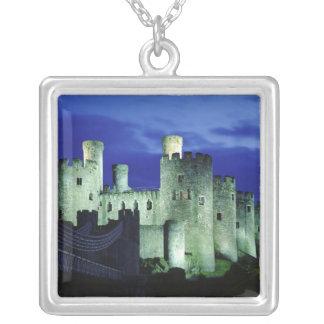 Castillo de Conwy, Gwynedd, País de Gales Colgante Cuadrado