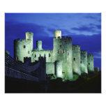 Castillo de Conwy, Gwynedd, País de Gales Fotografías