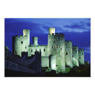 Castillo de Conwy, Gwynedd, País de Gales Fotografía