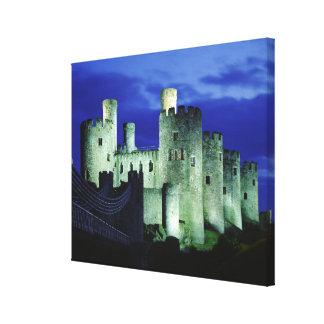 Castillo de Conwy, Gwynedd, País de Gales Impresión En Lienzo Estirada