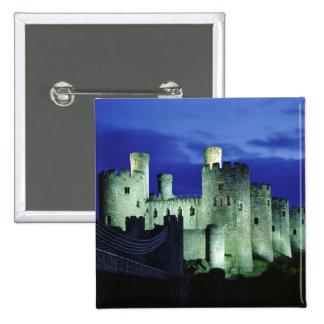 Castillo de Conwy, Gwynedd, País de Gales Pin Cuadrado