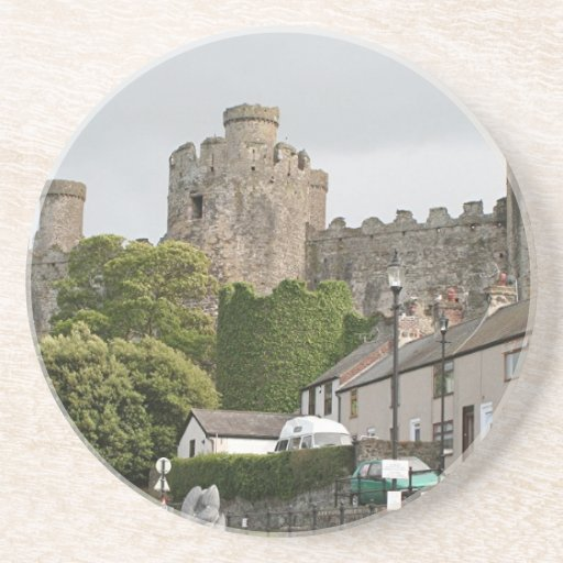 Castillo de Conwy, País de Gales, Reino Unido Posavasos Para Bebidas
