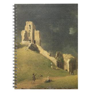 Castillo de Corfe, Dorset, 1764 (aceite en lona) Libros De Apuntes