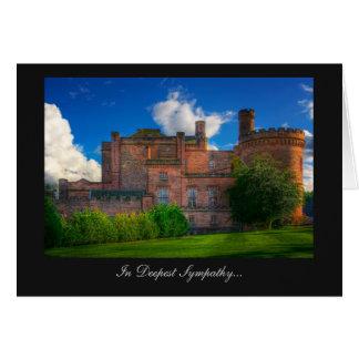 Castillo de Dalhousie, Midlothian - en la condolen Felicitaciones