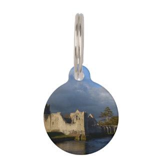 Castillo de Desmond en Adare Irlanda Placas De Mascota
