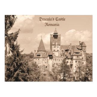Castillo de Drácula en Transilvania, Rumania Postal