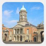 Castillo de Dublín en Irlanda Colcomanias Cuadradases