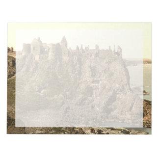 Castillo de Dunluce, condado Antrim, Irlanda del N Bloc De Papel