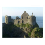 Castillo de Dunluce, postal de Irlanda