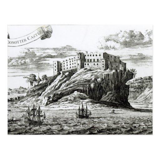 Castillo de Dunnottar Postal