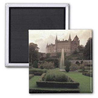 Castillo de Dunrobin, Escocia Imán Cuadrado