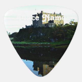 Castillo de Dunvegan en Skye Plumilla De Guitarra