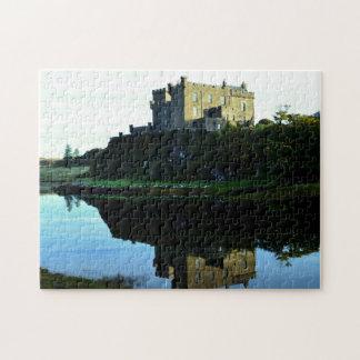 Castillo de Dunvegan en Skye Puzzle