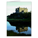 Castillo de Dunvegan en Skye Tarjeton