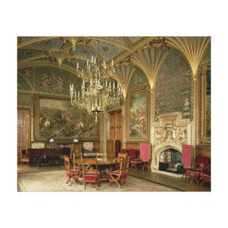 Castillo de Eastnor, Herefordshire: el dibujo Impresiones En Lona