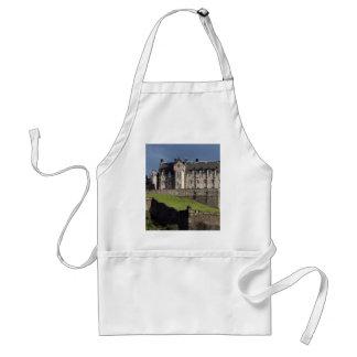 castillo de Edimburgo Delantales