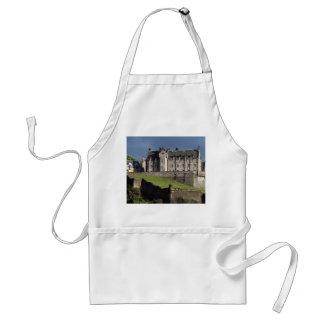 castillo de Edimburgo Delantal