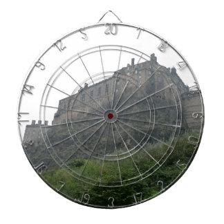 Castillo de Edimburgo en la niebla Tablero Dardos