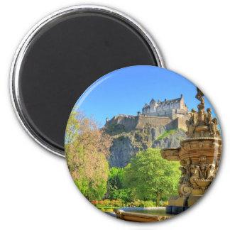 Castillo de Edimburgo, Escocia Imán Para Frigorifico