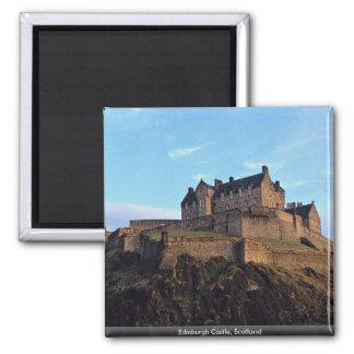 Castillo de Edimburgo, Escocia Imán Cuadrado