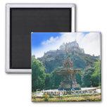 Castillo de Edimburgo, Escocia Imán De Frigorífico