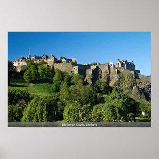 Castillo de Edimburgo Escocia Posters