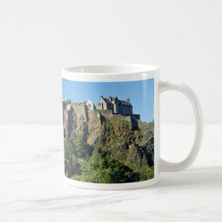 Castillo de Edimburgo Escocia Taza