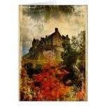 Castillo de Edimburgo Felicitacion