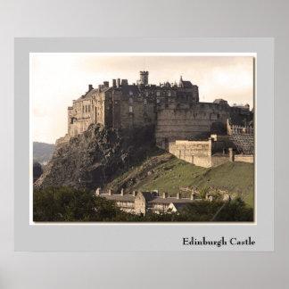 Castillo de Edimburgo Impresiones