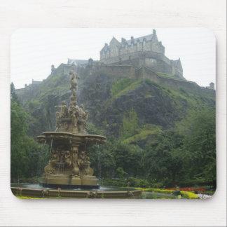 Castillo de Edimburgo Mouse Pad