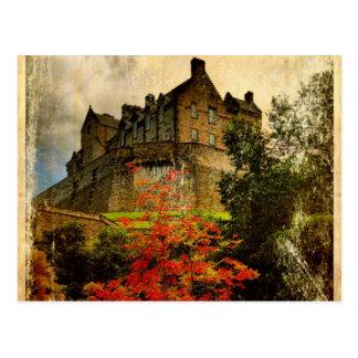 Castillo de Edimburgo Tarjetas Postales
